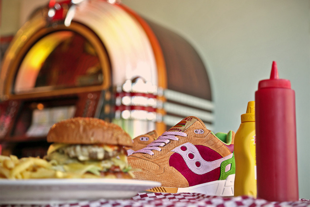 noticia, extra, gourmetice, tênis, sneaker, saucony, burger, sombra 5000