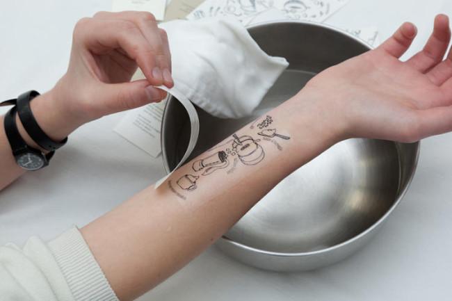 noticia, gourmetice, tatuagens, tattoos, livro, receitas, i tradizionali