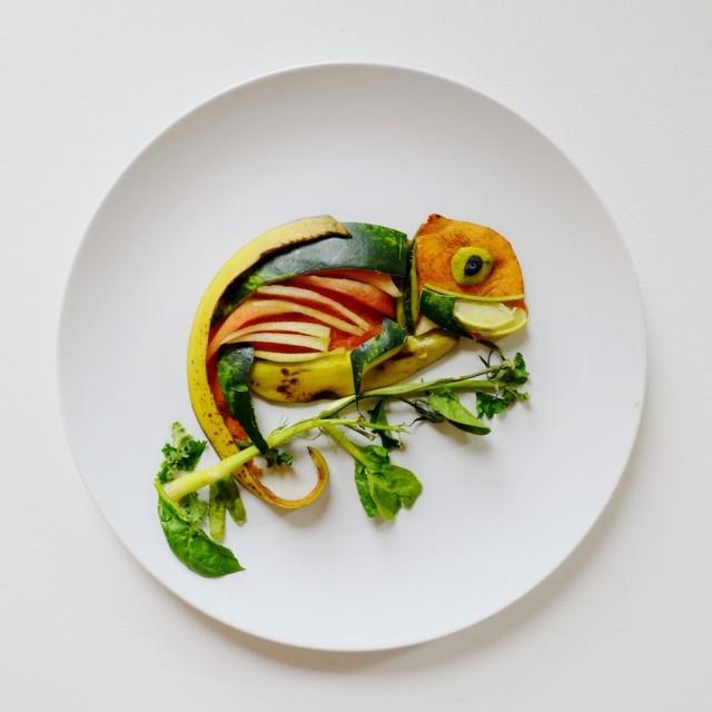 notícia, extra, gourmetice, art food, comida, arte, lauren purnell