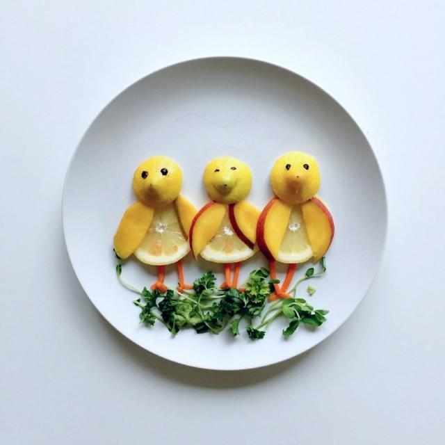 notícia, extra, gourmetice, art food, arte, comida, lauren purnell