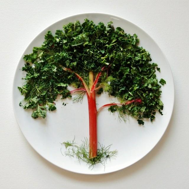 noticia, extra, gourmetice, food art, arte, comida, lauren purnell