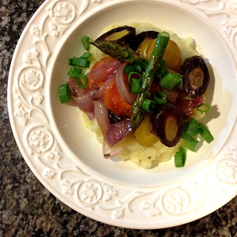 receita, gourmetice, legumes rústicos assados, purê de batata