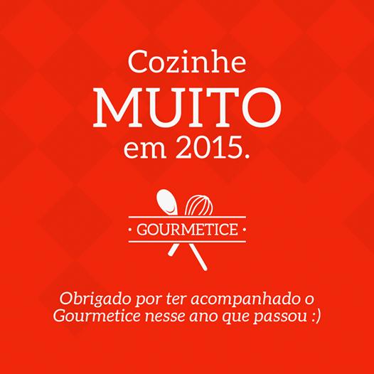 Cozinhe MUITO em 2015.