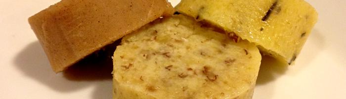 receita, gourmetice, manteigas saborizadas