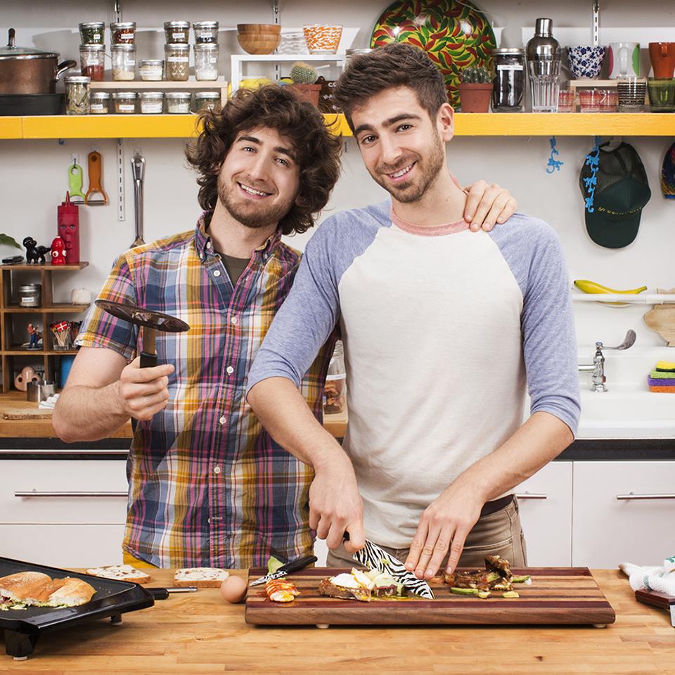 notícia, extra, gourmetice, brothers green: eats!, mtv