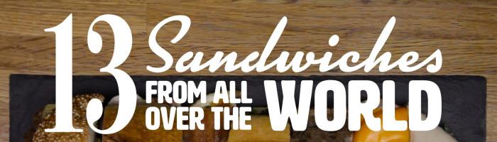 notícia, extra, gourmetice, vídeo, video, 13, treze, sanduíches, sandwiches, mundo, world