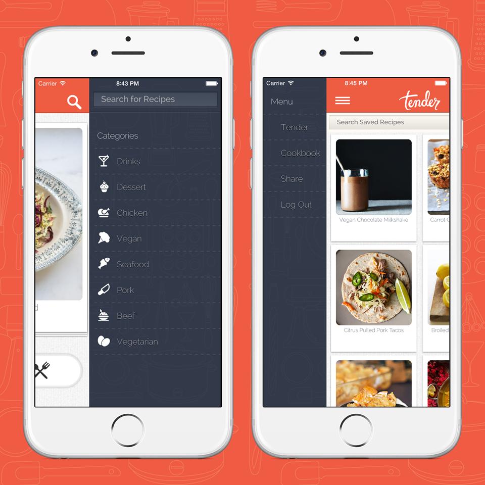 notícia, extra, gourmetice, tender, app, aplicativo, tinder, comida, prato perfeito