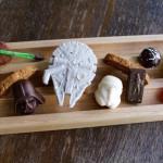 Restaurante lança sobremesas feitas à mão de Star Wars