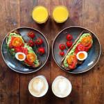 """Café da manhã pra dois no """"Symmetry Breakfast"""""""