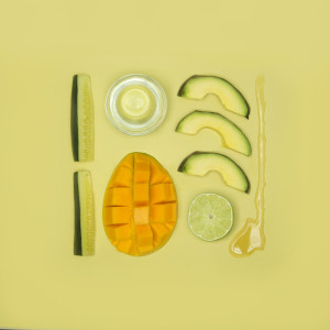 notícia, extra, gourmetice, pantone smoothie, abacate, manga, limão taiti, pepino, mel
