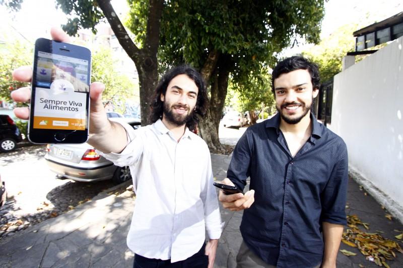 Guilherme Ebling e Benhur Antunes