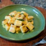 Nhoque de Batata-Doce com Molho de Manteiga e Sálvia