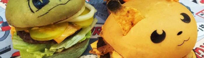 notícia, gourmetice, pokéburgers, pokéburger, down 'n out, sidnei, austrália, hambúrguer, hamburger, burger, pokémon, pokémon go, bulbasaur, charmander, pikachu