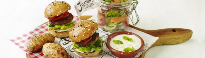 notícia, gourmetice, jamie, jamie oliver, jamie's italian, brasil, são paulo, sp, dia das crianças, outubro, mini hambúguer, burger, hamburger, menu infantil, kids, chef