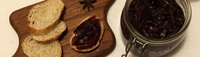 receita, gourmetice, chutney, cebola roxa, cebola, mostarda, sementes, vinagre, jerez
