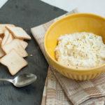 Queijo Cremoso de Iogurte com Lemon Pepper