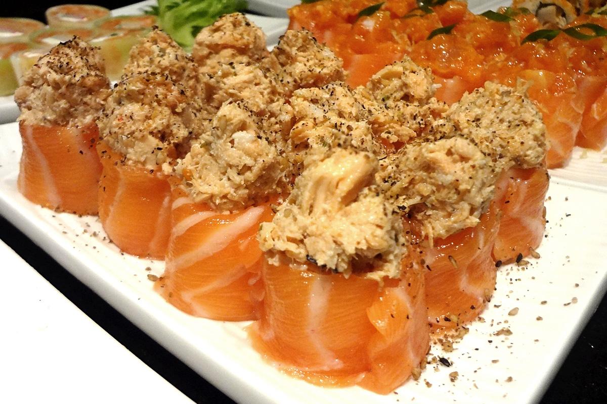 review, gourmetice, takêdo, porto alegre, poa, restaurante, culinária japonesa, japonês, sushi, jyo, gunkan, salmão, atum