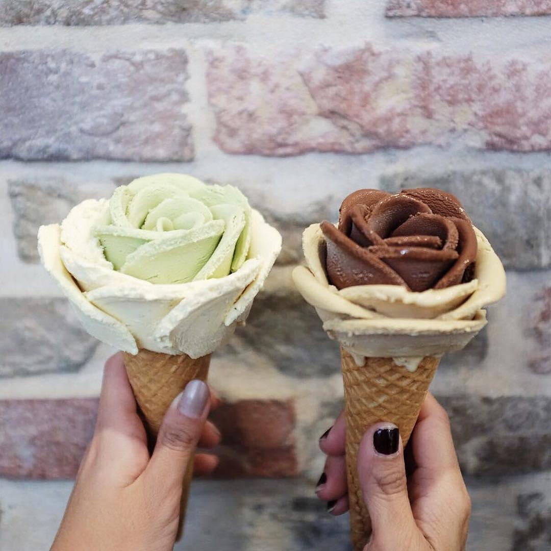 notícia, gourmetice, flor de sorvete, sorvete, artesanal, ice cream, flower, i-creamy artisan gelato, gelateria, sorveteria, gelato, sydney, australia