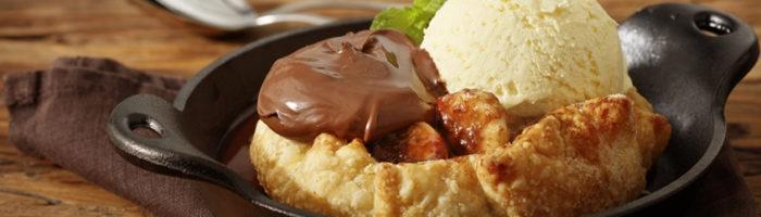 notícia, gourmetice, abbraccio cucina italiana, restaurante, italiano, crostata di banana crema nocciele