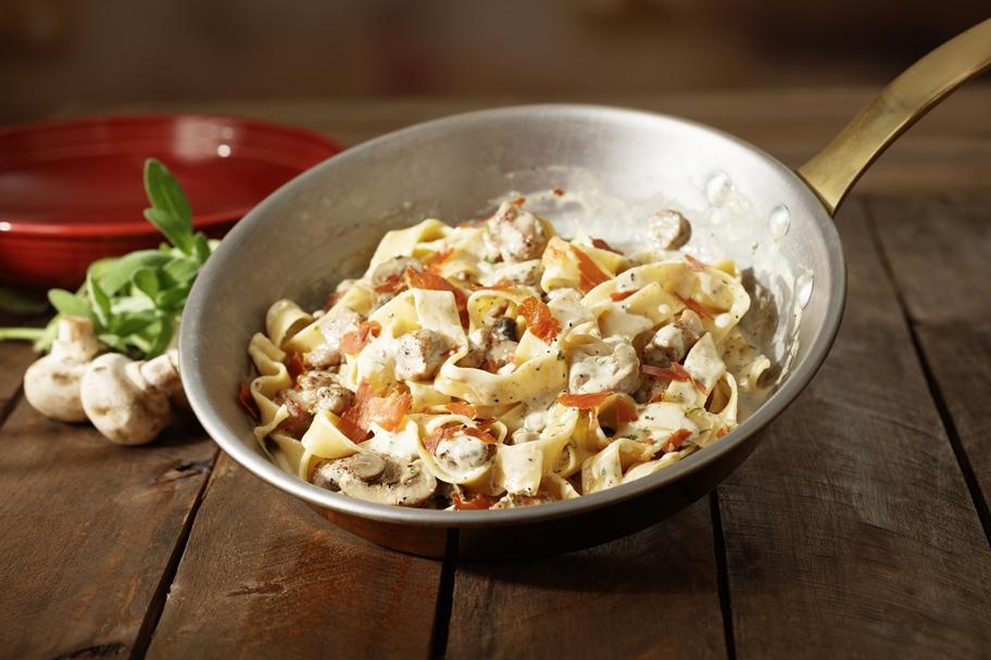 notícia, gourmetice, abbraccio cucina italiana, restaurante, italiano, pappardelle con vitello e prosciutto crocante
