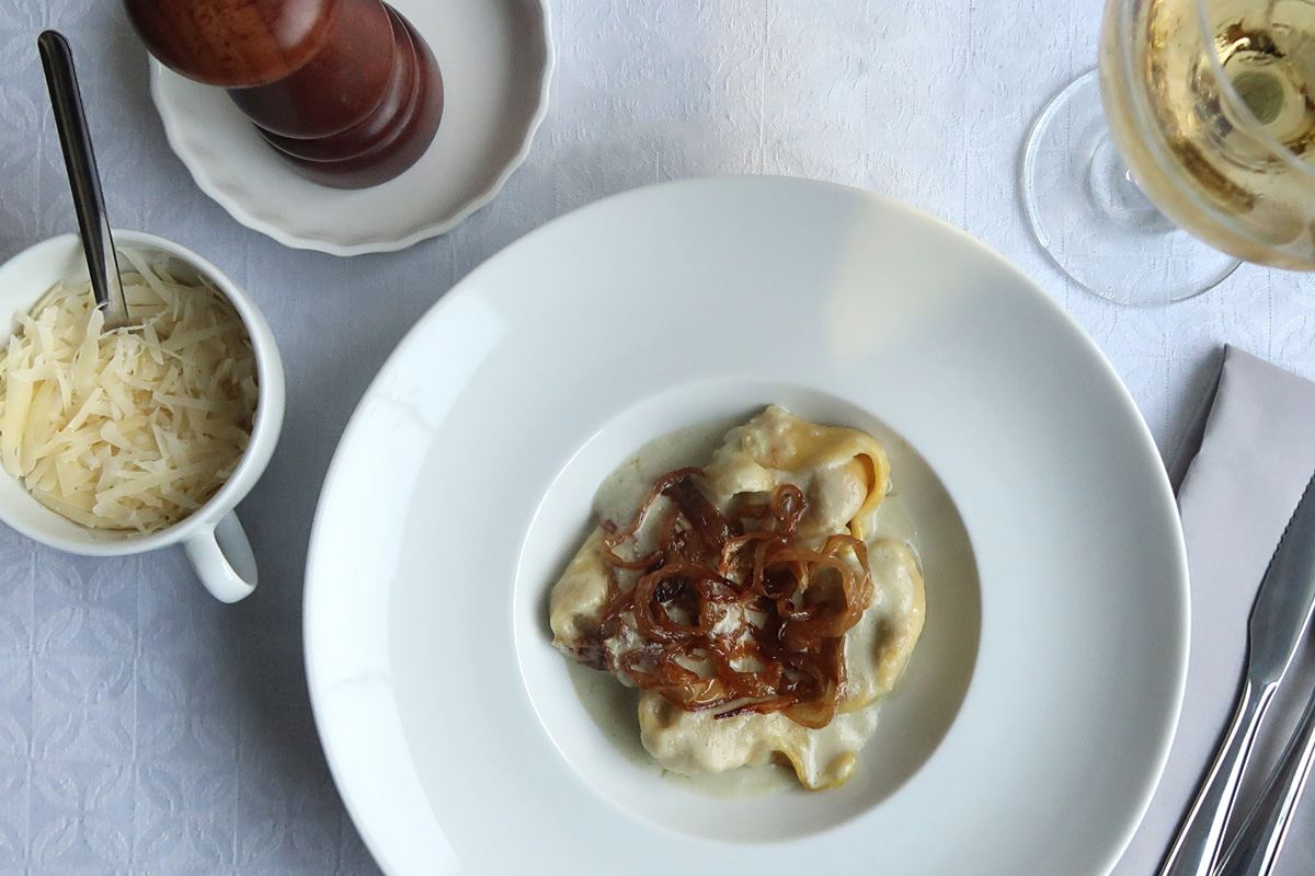 review, gourmetice, brubins, delivery, comida, congelada, porto alegre, poa, tortelone, gorgonzola, cebola, caramelizada