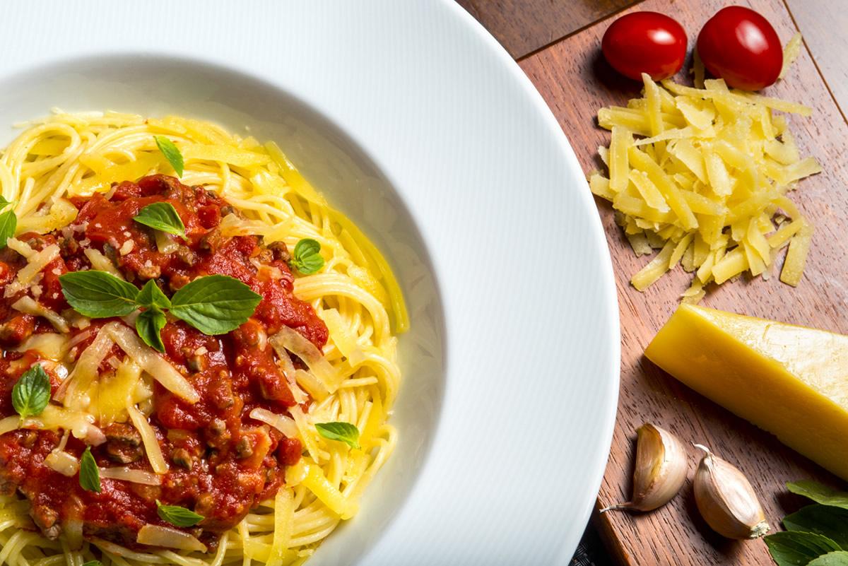 notícia, gourmetice, hotel, laghetto, stilo centro, pedras altas, gramado, rs, serra gaúcha, spaghetti, bolonhesa