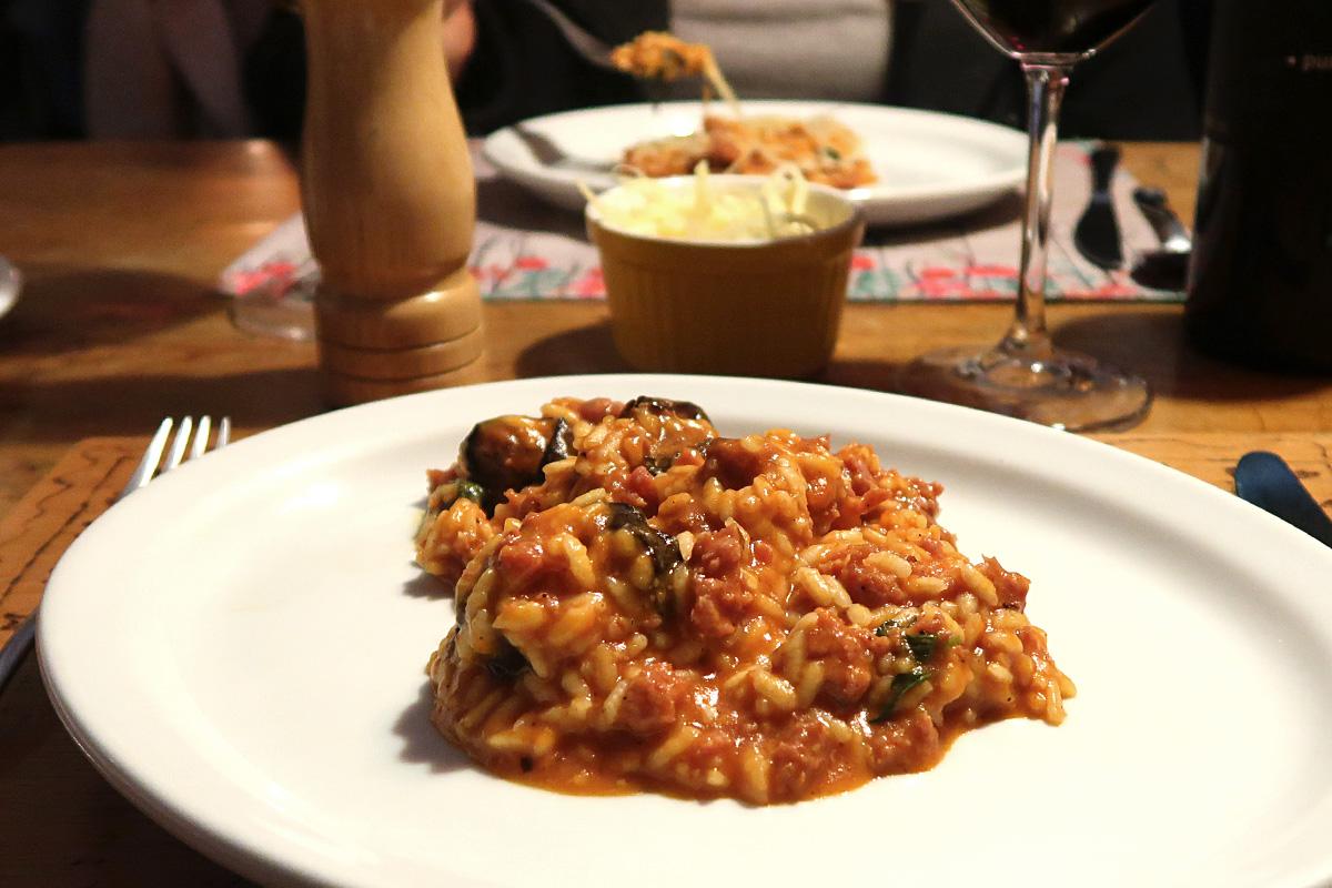 review, gourmetice, tutto riso risoteria, risoteria, porto alegre, poa, risoto, zicca, linguicinha, colonial, berinjela assada, sugo, manjericão