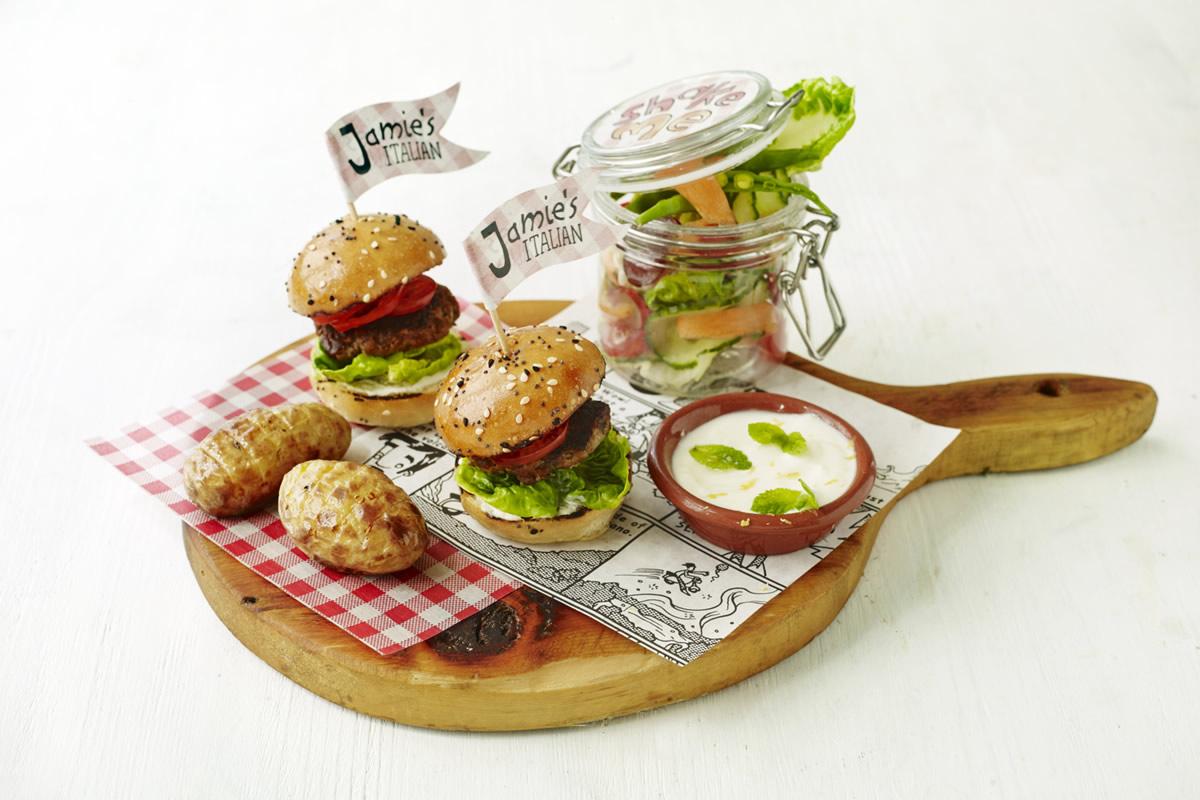 notícia, gourmetice, jamie, jamie oliver, jamie's italian, restaurante, são paulo, sp, dia das crianças, hambúrguer, salada