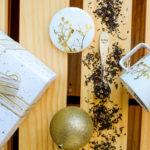 Lojas da Tea Shop realçam o glamour de um Natal dourado